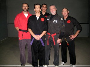 Frog's Purple Belt Panel