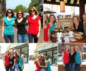 Fairytale Reunion Lunch Collage