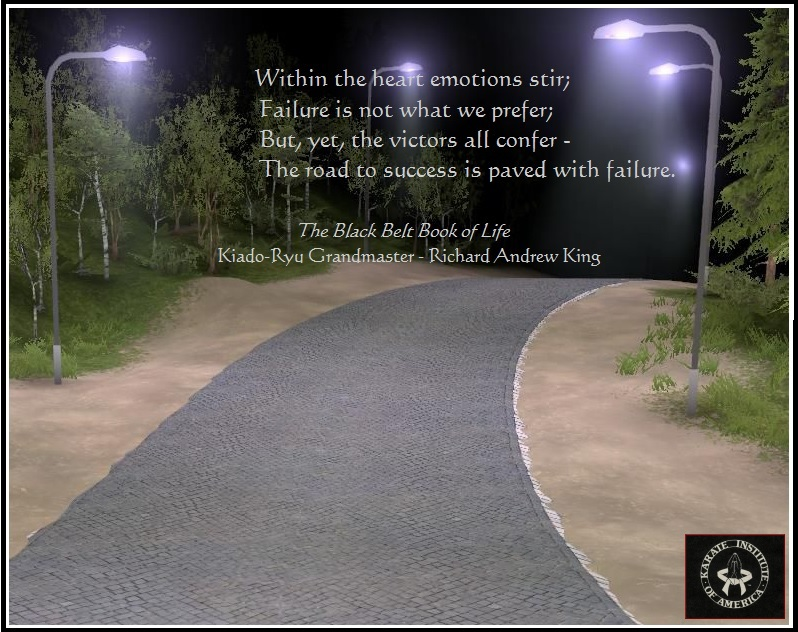 Photo Of The Week The Road To Success Is Paved With Failure
