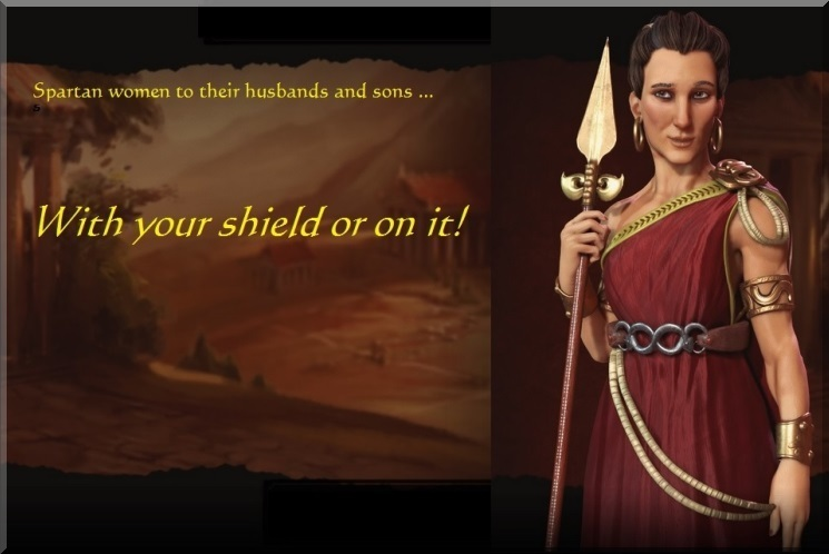 With Your Shield Or On It!